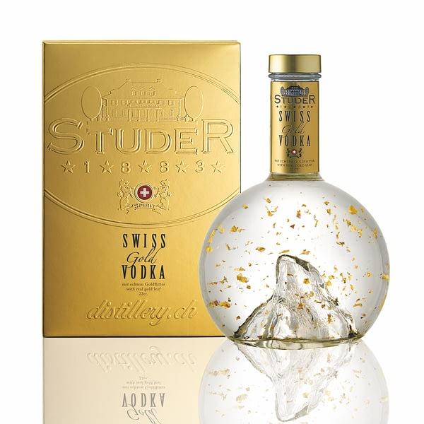 Studer Swiss Gold Vodka plus box