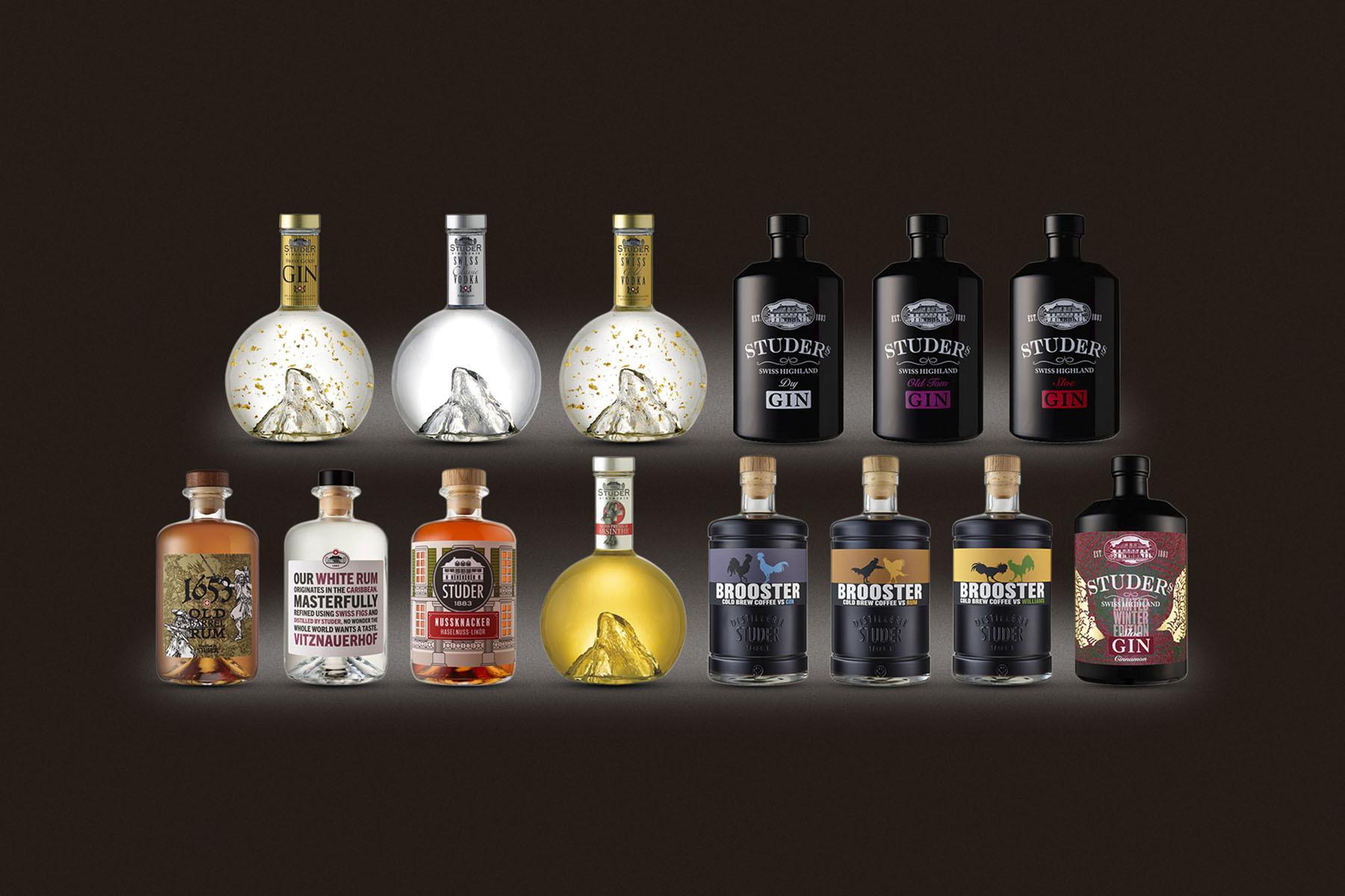 Range of our premium spirits