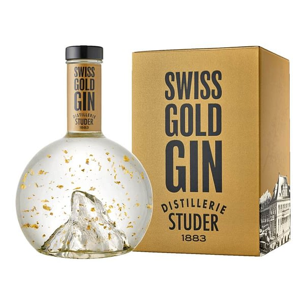 Studer Swiss Gold Gin boxed
